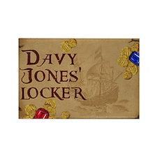 Cute Davy jones locker Rectangle Magnet (10 pack)