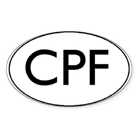 CPF Bumper Sticker
