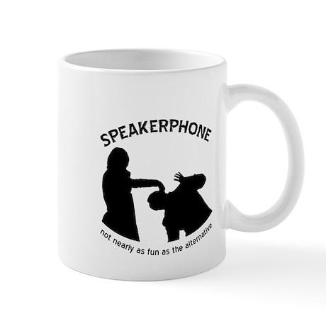 """Speakerphone"" Mug"