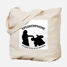 """Speakerphone"" Tote Bag"