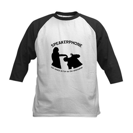 """Speakerphone"" Kids Baseball Jersey"