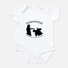 """Speakerphone"" Infant Bodysuit"