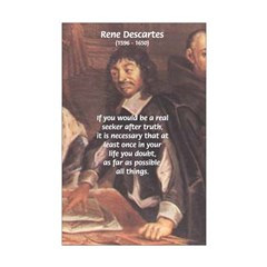 Rene Descartes: Truth of Philosophy Examine Belief