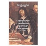 Rene Descartes: Seeker of Truth Must Doubt