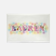 """Lauren"" with Mice Rectangle Magnet"