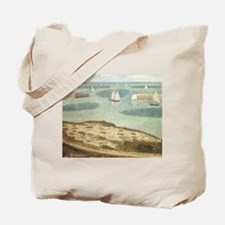 Seurat Entrance to the Harbor Tote Bag