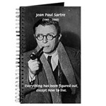 Existentialist Jean-Paul Sartre Journal