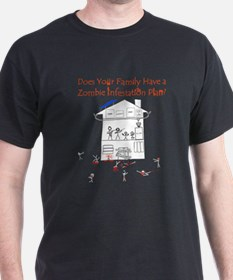 zombie_survival_dark T-Shirt