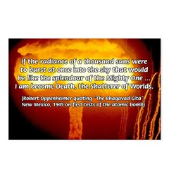 Atomic Bomb: Oppenheimer Postcards (Package of 8)