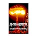 Nuclear Bomb: Oppenheimer Quote Bhagavad Gita