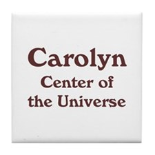 Personalized Carolyn Tile Coaster