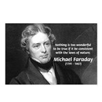 Michael Faraday Postcards (Package of 8)