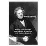 Michael Faraday: Wonderful True Laws of Nature