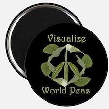 VISUALIZE WORLD PEAS Magnet