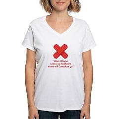 When Obama screws up healthcare... Shirt