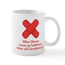When Obama screws up healthcare... Mug