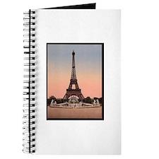 Eiffel Tower circa 1900 Journal