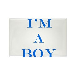 I'm a Boy Rectangle Magnet (10 pack)