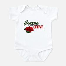 """Flowers For Your Grave"" Infant Bodysuit"