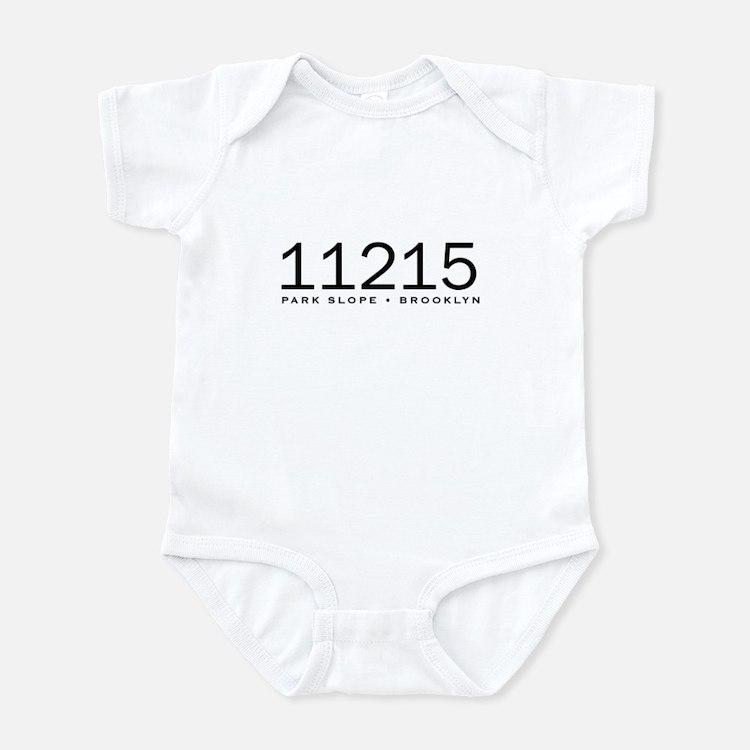 11215 Park Slope Zip code Infant Bodysuit