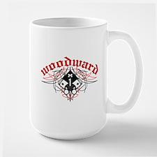 Woodward Pistons Pinstripe Large Mug