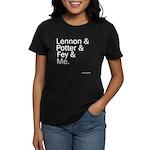 who wears 'em Women's Dark T-Shirt