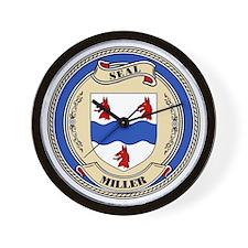 Seal - Miller Wall Clock