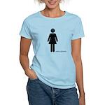 girl in glasses Women's Light T-Shirt
