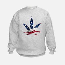 PATRIOTIC WEED Sweatshirt