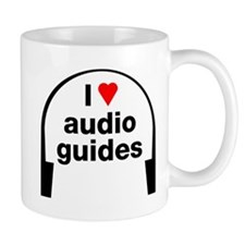 I Love Audio Guides Mug