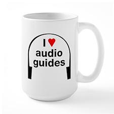 I Love Audio Guides Mug
