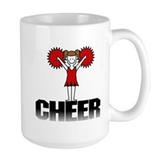 Red Cheerleading Mug
