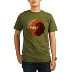 oma logo Organic Men's T-Shirt (dark)