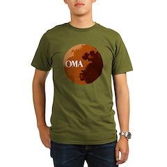 oma logo Organic Men's T-Shirt (dark)