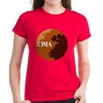 oma logo Women's Dark T-Shirt