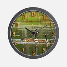 Goose Family Wall Clock