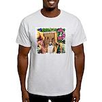 Basenji Art Light T-Shirt