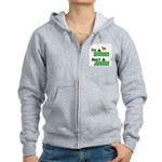 """Wiseass, Not Jackass"" Women's Zip Hoodie"