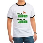 """Wiseass, Not Jackass"" Ringer T"
