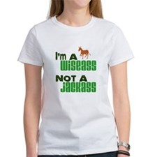"""Wiseass, Not Jackass"" Tee"