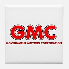 GMC Government Motors Corporation Tile Coaster