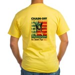 Chain Off 2009 Yellow T-Shirt