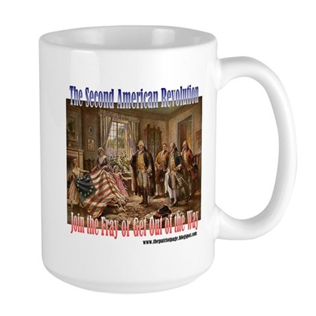 Second American Revolution Large Mug