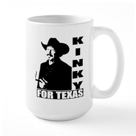 Kinky for Texas Large Mug