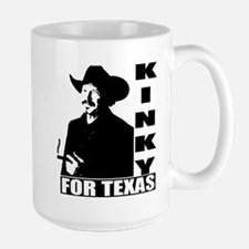 Kinky for Texas Large Mug
