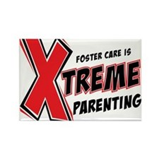 Xtreme Parenting Rectangle Magnet