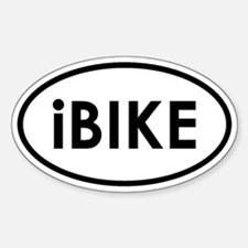 I Bike Decal