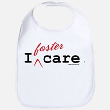 I Foster Care Bib