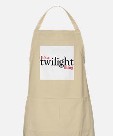 It's a Twilight thing BBQ Apron