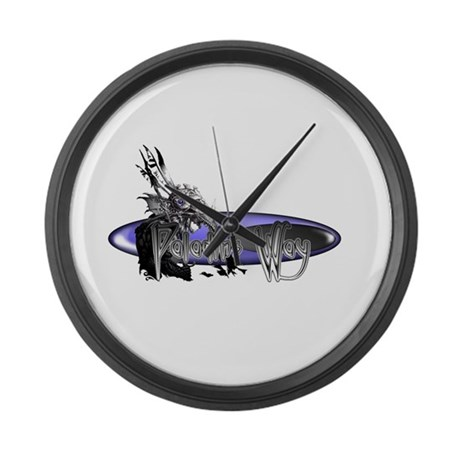 Paladins Way Large Wall Clock